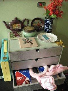 Идеи офрмления мини-комодиков от Икеи