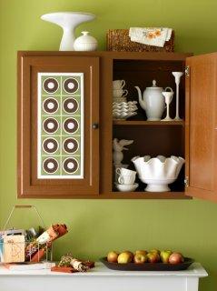 Декор кухонной мебели. Бюджетные решения.