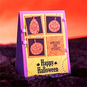 Открытки на хэллоуин своими руками фото