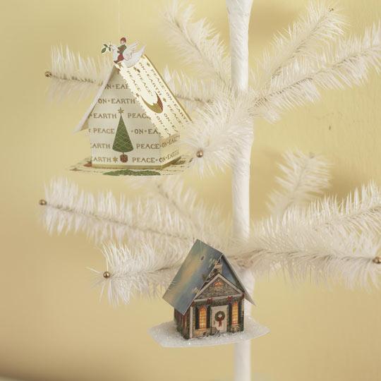 Домики для елки своими руками