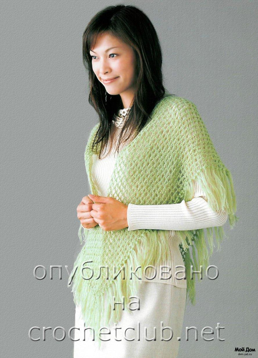 доставка из китая вязание платков крючком