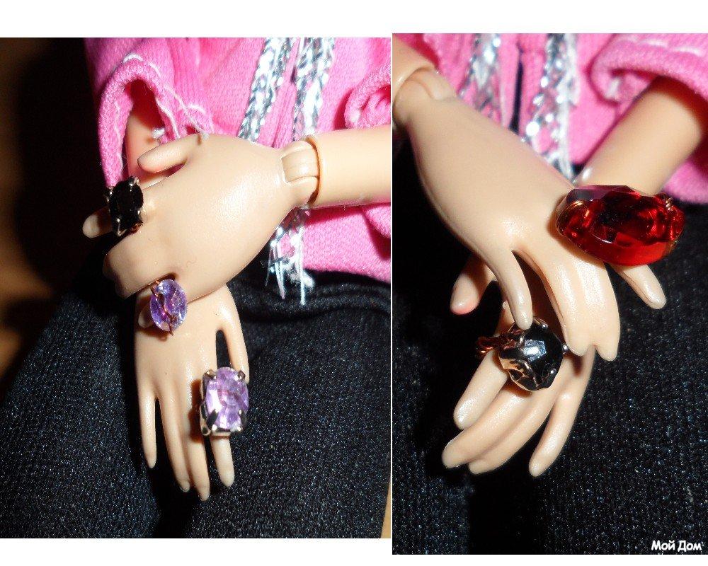 Как для куклы сделать кольцо из 413