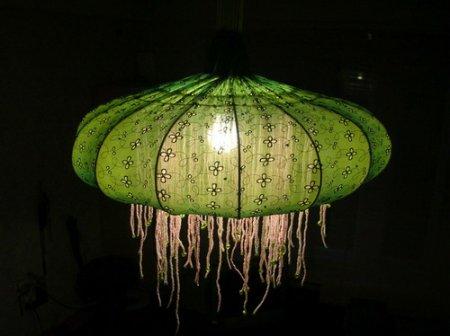 Очень красивые самодельные лампы