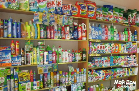 Комплект домашних чистящих средств