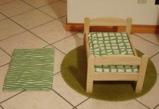 Кровать для кошки деревянная своими руками 56