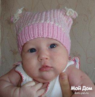 Вяжем детям шапочки. Часть 2. Ушанки, с ушками и просто закрывающие ушки