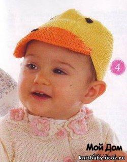Вяжем детям шапочки. Часть 3. Не закрывающие ушки