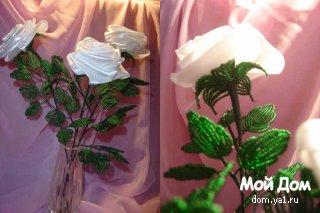 Мастер-класс по изготовлению розы из атласной ленты